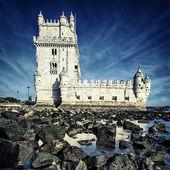 Famosa torre de belem — Foto de Stock