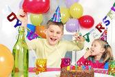Crazy birthday party — Stock Photo