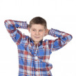 Fashion relaxed boy — Stock Photo