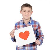 Red heart — Stock Photo