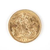 Gold Sovereign — Stock Photo