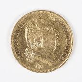 ルイ 18 世のゴールド コイン — ストック写真