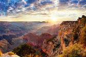 Nascer do sol do grand canyon — Fotografia Stock