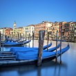 Gondolas in Venice — Stock Photo #23167092