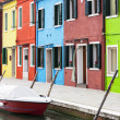 Burano square — Stock Photo