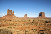 View of famous Monument Valley — Stock Photo