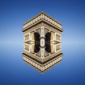Abstract view of Arc de Triomphe — Stock fotografie