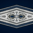 Arc de Triomphe pattern — Stock Photo