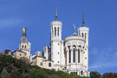 The apse of the basilica of notre dame de fourviere — Stock Photo