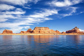 View on famous lake Powell — Stock Photo
