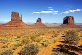 View of Monument Valley — Foto Stock