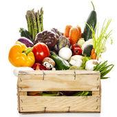 Assortment of fresh vegetables — Stock Photo