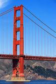 Part of Golden Gate Bridge — Stock Photo