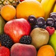 Exotic fruits — Stockfoto