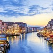 Panoramic view of famous Grand Canal — Stok Fotoğraf #26672695