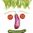 Vegetables face — Stock Photo #26964311