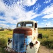 Old truck out in the meadow — Stock Photo