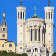 Basilica of Notre-Dame de Fourviere — Stock Photo