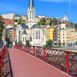 Stock Photo: View of Lyon city