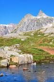 Incredibile vista del sentiero turistico — Foto Stock