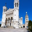 Notre Dame de Fourviere in Lyon — Stock Photo