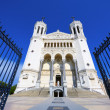Fourviere basilica in Lyon — Stock Photo