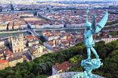 Famous view of Lyon — Stock Photo