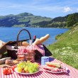 Picnic and lake — Stock Photo #30204871