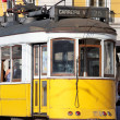 Yellow tram — Stock Photo