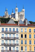 View of Notre Dame de Fourviere — Stock Photo