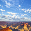 Grand Canyon and sky — Stockfoto