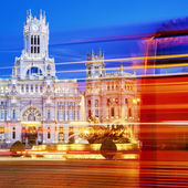 Plaza de la Cibeles — Stock Photo