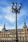 Famous Plaza Mayor — Stock Photo