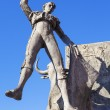 Bullfighter sculpture — Stock Photo
