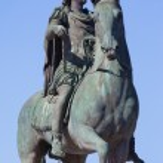 Постер, плакат: Famous statue of Louis XIV in Lyon