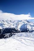 Montaña del invierno — Foto de Stock