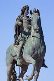Famous statue of Louis XIV in Lyon — Stock Photo
