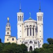 Famous Basilica of Notre Dame de Fourviere — Stock Photo