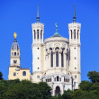 Stock Photo: Famous Basilica of Notre Dame de Fourviere