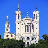 Famous Basilica of Notre Dame de Fourviere — Stock Photo