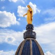 Famous Golden Statue of Virgin Mary — Stock Photo #33785573