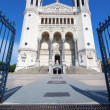 Famous Fourviere basilica — Stock Photo #33785613