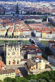 Vertical view of Lyon — Foto Stock