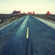 Road To Monument Valley — Stock Photo