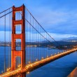 Famous Golden Gate Bridge — Stock Photo
