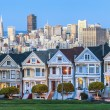 Painted Ladies of SFrancisco — Stok Fotoğraf #34482571