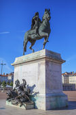 Statue of Louis XIV — Stock Photo