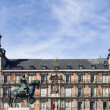 View of famous Plaza Mayor — Stock Photo