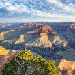 Grand Canyon with morning light — Stock Photo