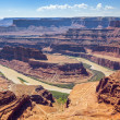 Famous Dead horse point — Stock Photo